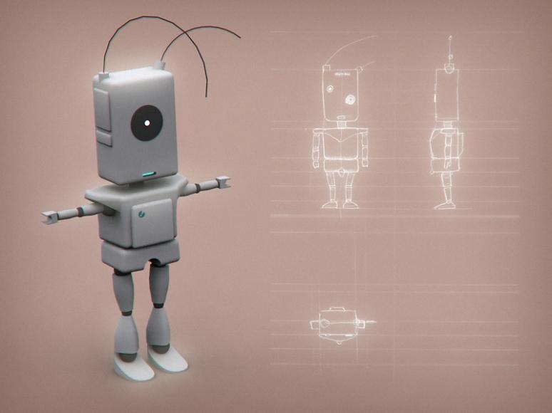 Mini Robot 3D