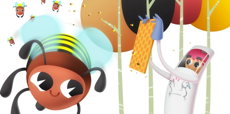 ¡Mójate por los insectos de los humedales! *Detalle